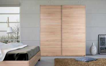 Dallas Oak Sliding Wardrobes