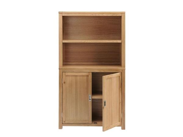 burnham home office cabinet open top shelf unit