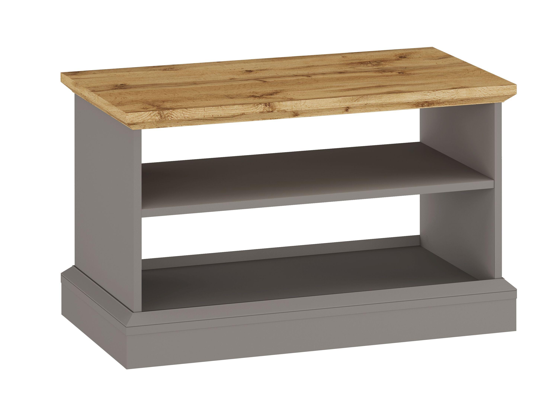 Ashover Coffee Table - Grey & Oak