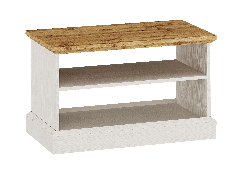 Ashover Coffee Table - White & Oak
