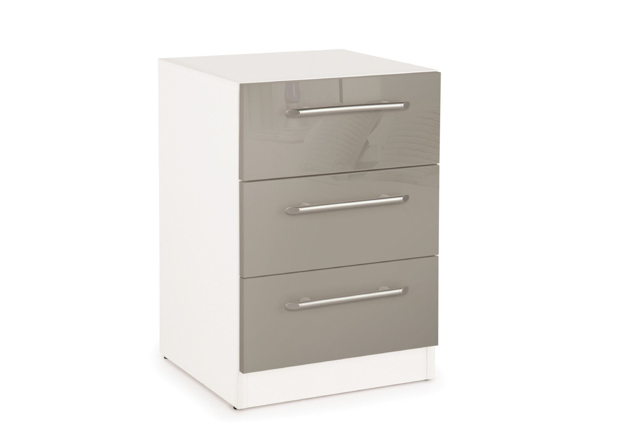 Connect Bayswater 3 Drawer Bedside