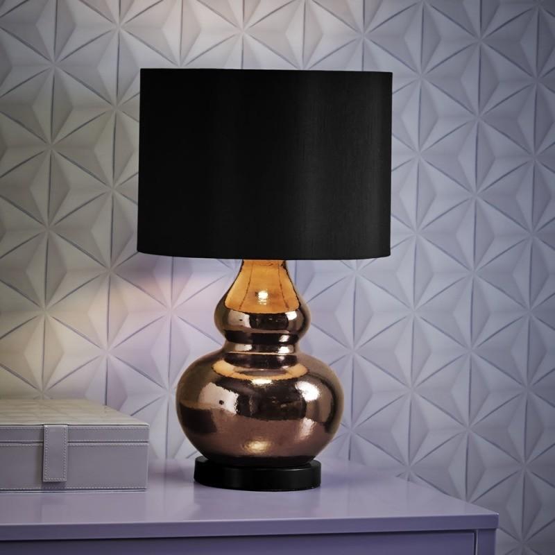 Cara Gold Ceramic Table Lamp
