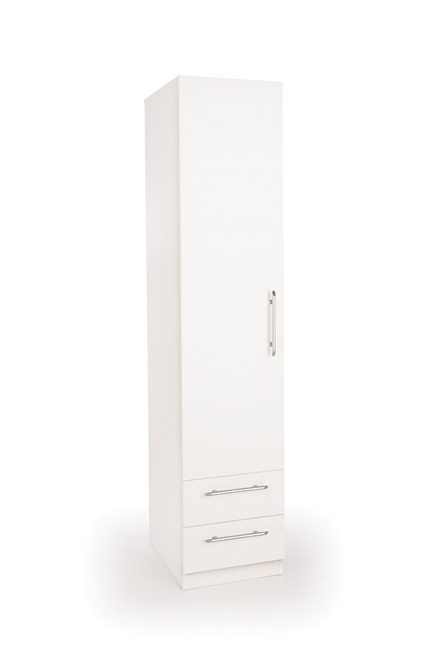Connect Acton 1 Door Wardrobe with 2 Drawers
