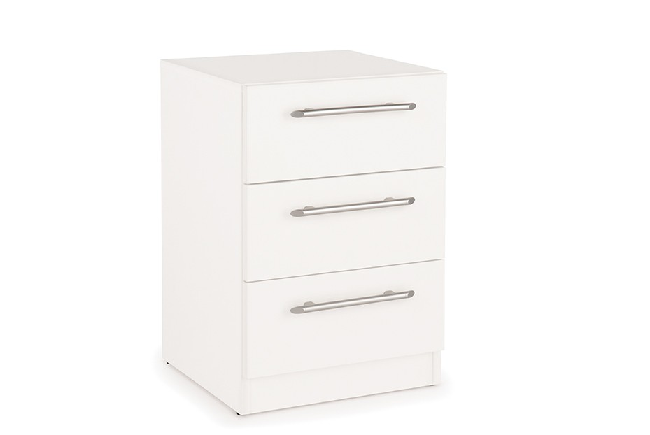 Connect Acton 3 Drawer Bedside