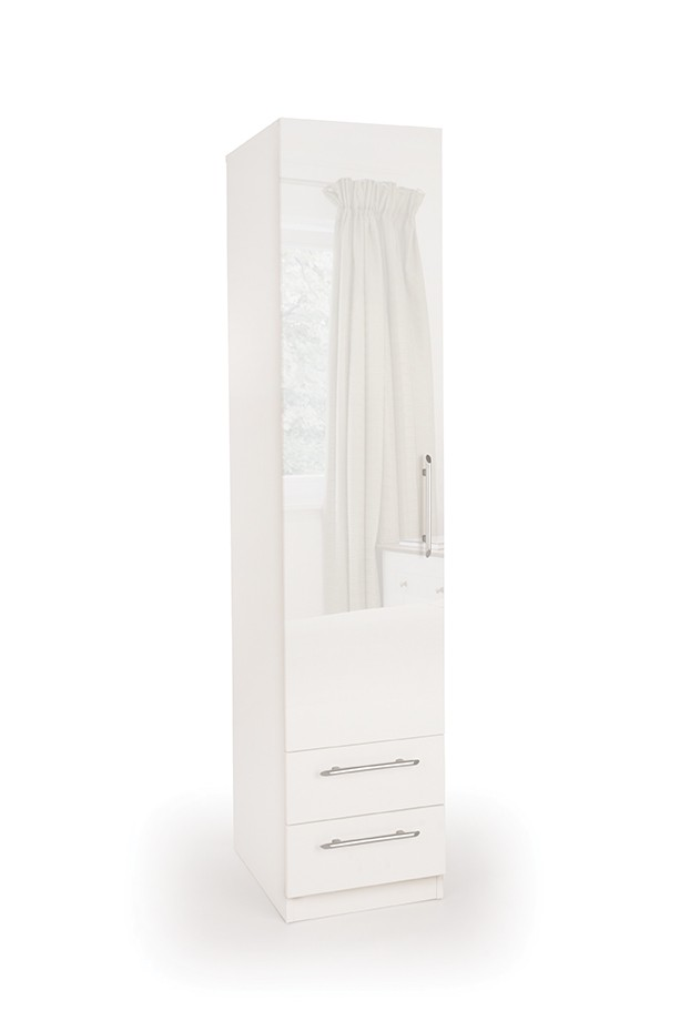 Connect Angel 1 Door Wardrobe with 2 Drawers