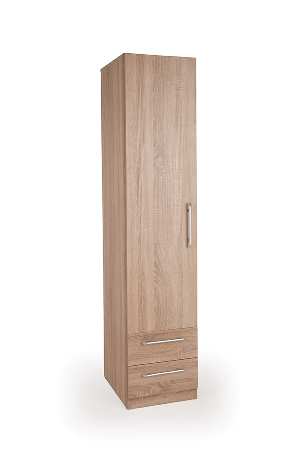 Connect Holborn 1 Door Wardrobe with 2 Drawers