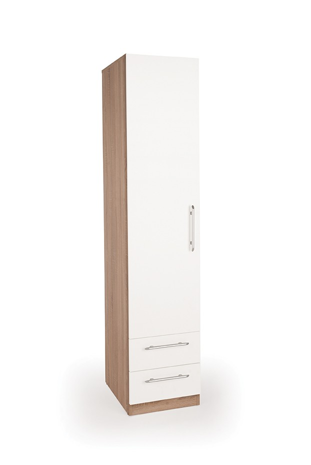 Connect Hyde 1 Door Wardrobe with 2 Drawers