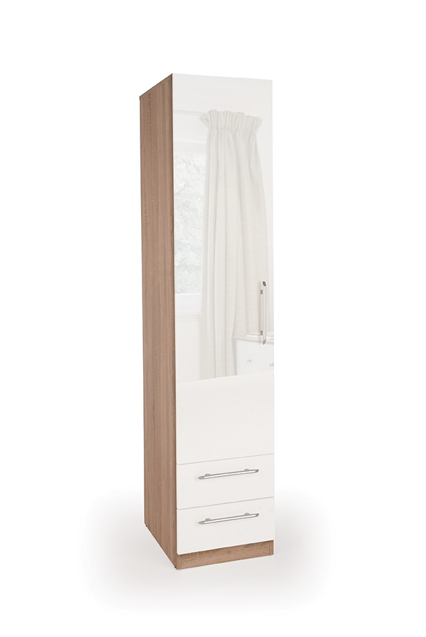 Connect Kew 1 Door Wardrobe with 2 Drawers