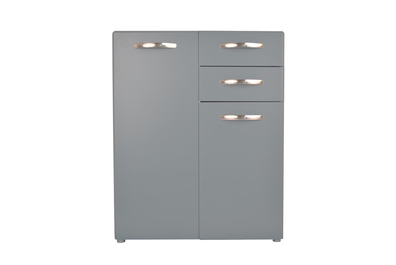 Retro Sideboard - Soft Grey - Small