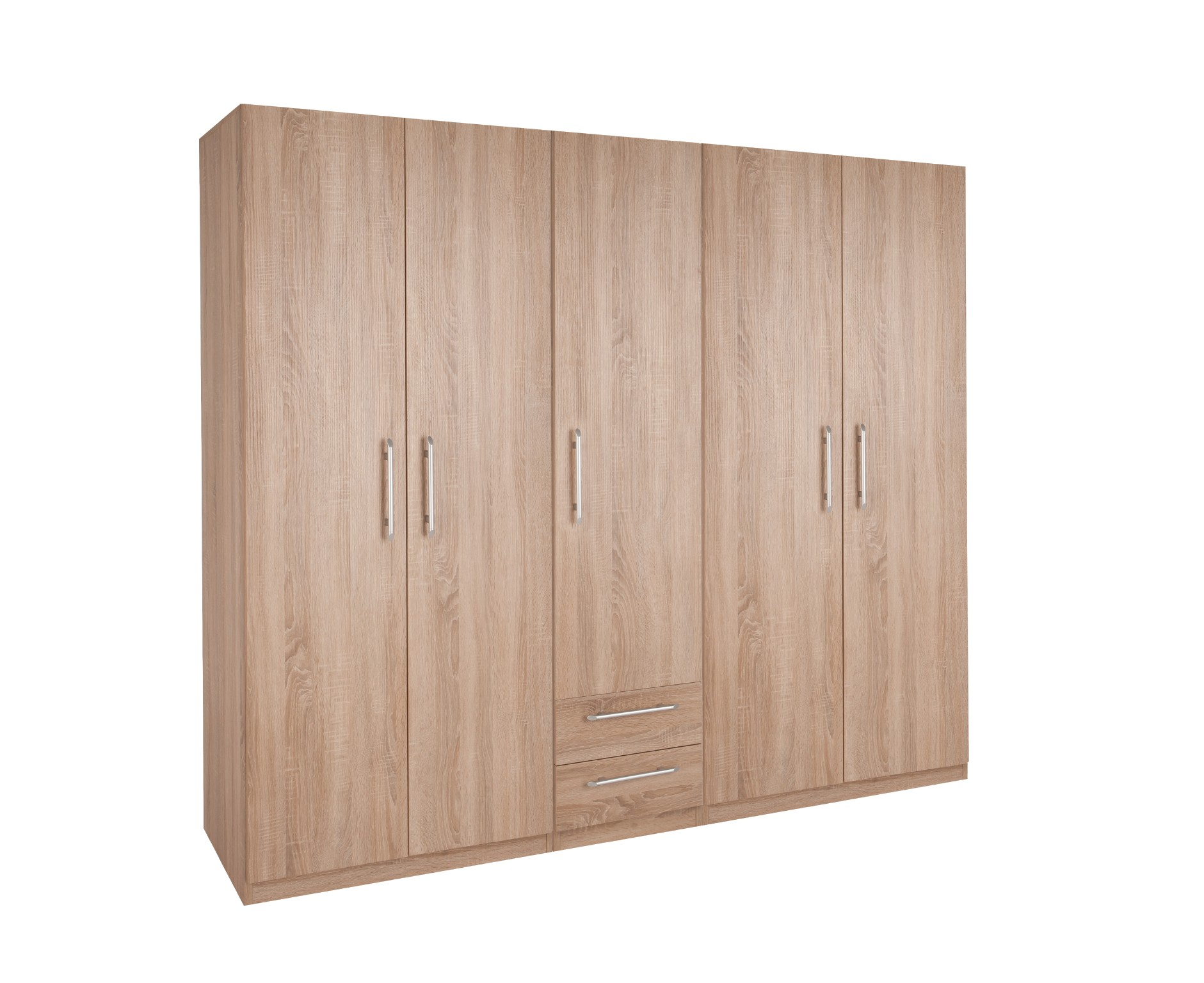 Holborn 5 Door 2 Drawer Wardrobe