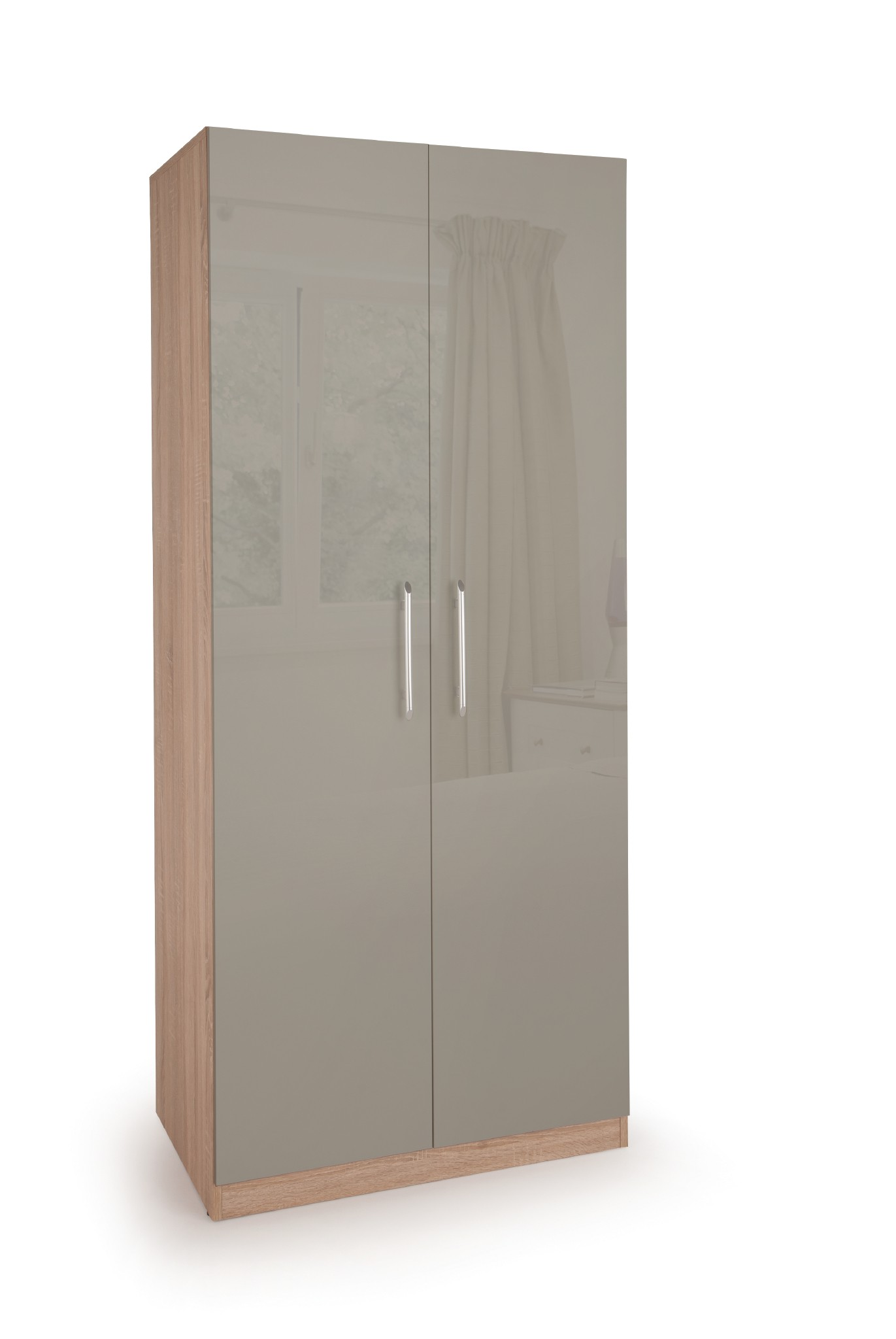 Connect Kensington 2 Door Wardrobe