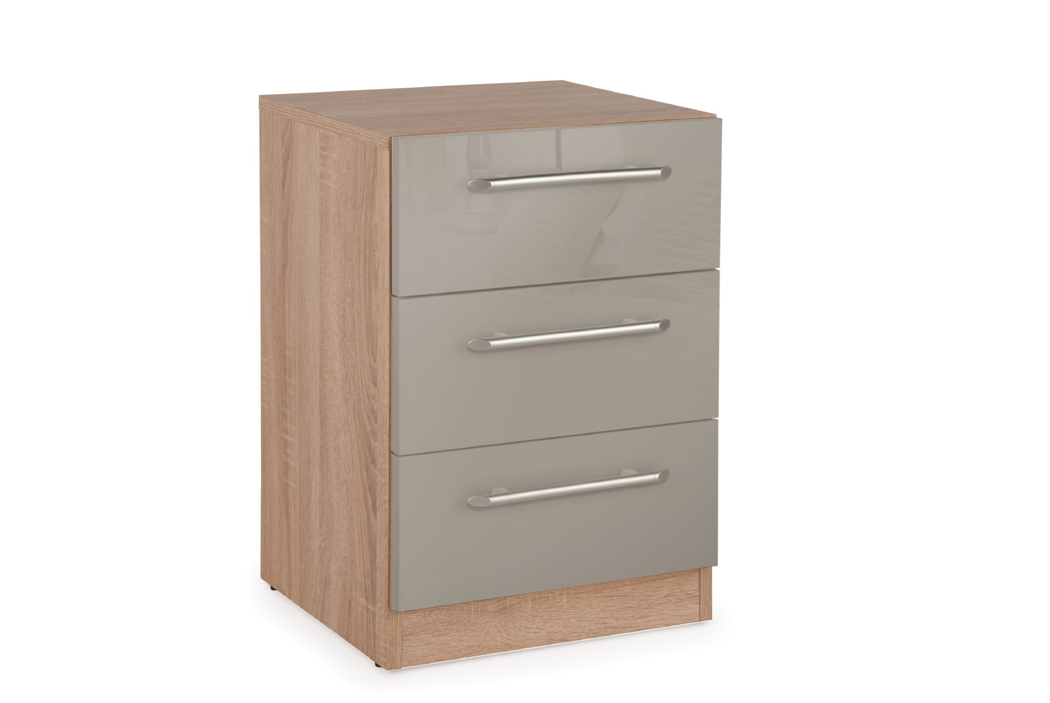 Connect kensington 3 Drawer Bedside