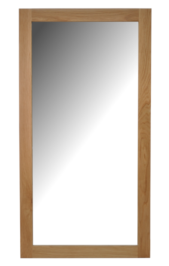 Chelsea Leicester Oak Wall Mirror - Medium