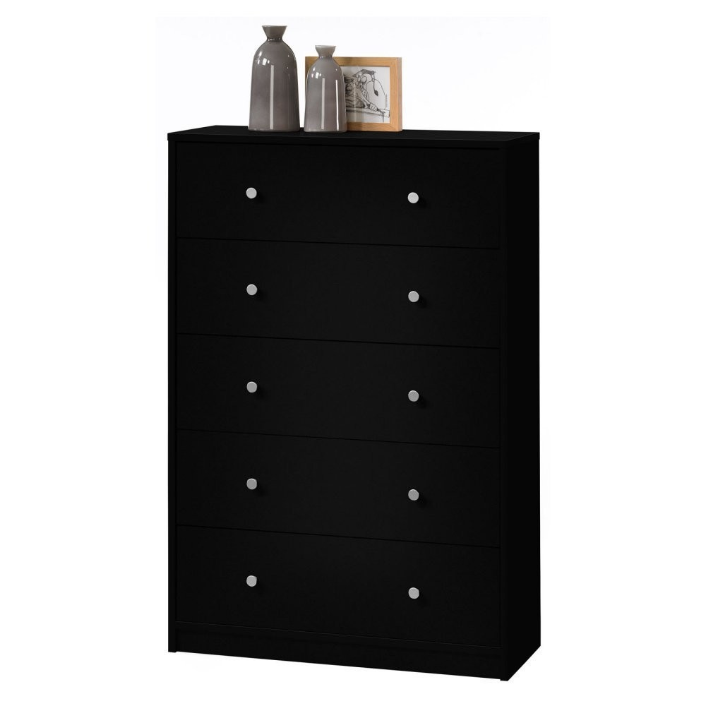 May 5 Drawer Chest - Black