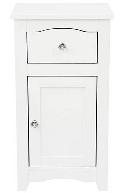 Somerset white door and drawer unit