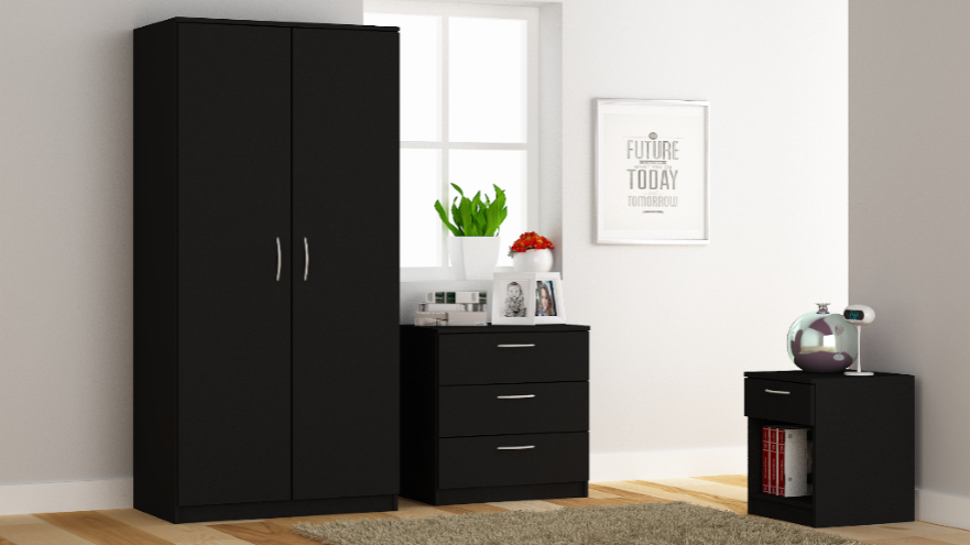 Venice Bedroom Set - Black