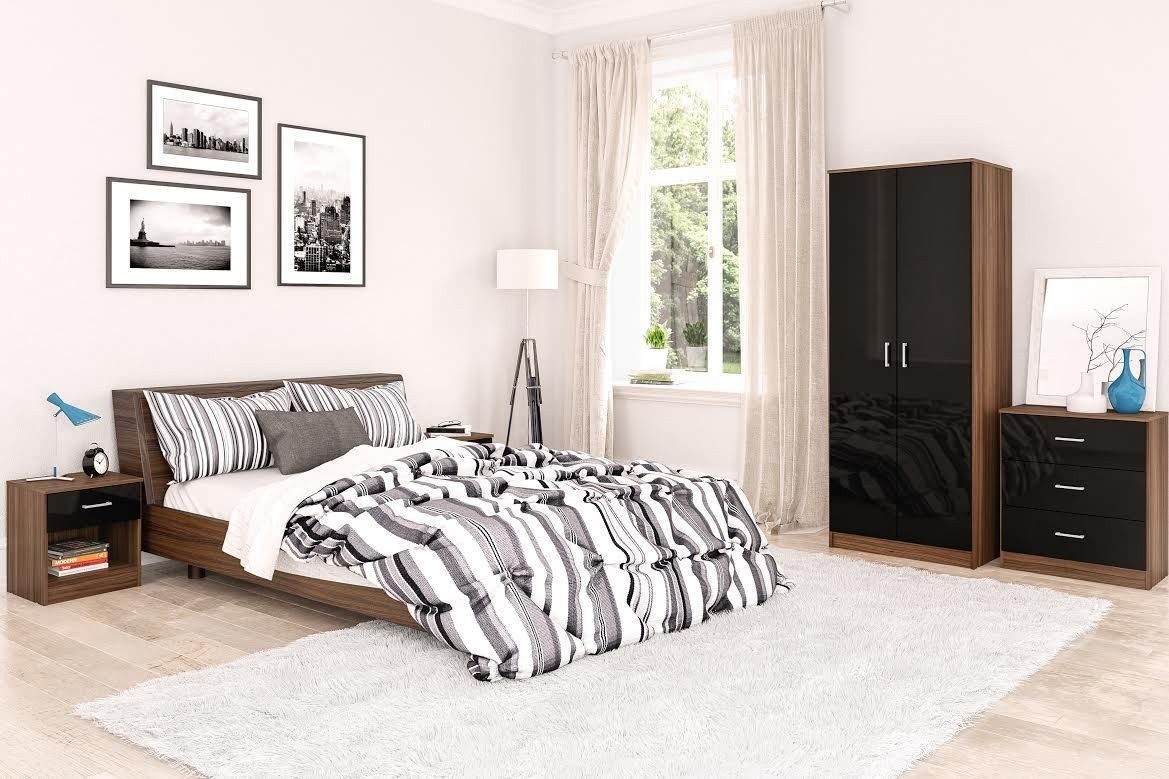Vienna Bedroom Set - Black