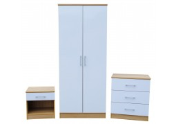 Vienna Bedroom Set - White