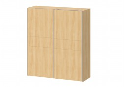 JAX 2 Door Sliding Wardrobe - Oak