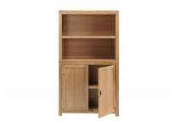 Burnham Home Office Cabinet & Open Top Shelf Unit