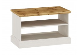 Ashover Coffee Table - White & Oak
