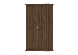 Paris 2 Door Wardrobe Walnut