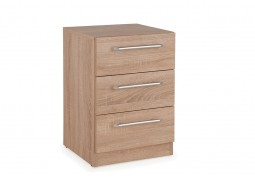 Connect Holborn 3 Drawer Bedside