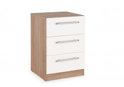 Connect Hyde 3 Drawer Bedside