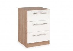 Connect Kew 3 Drawer Bedside