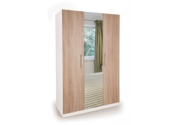 Connect Euston 3 Door Wardrobe with Mirror