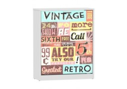 Shoe Cabinet - Vintage