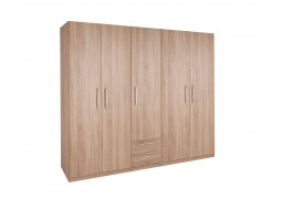 Holborn 5 Door 2 Drawer Wardrobe