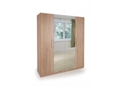 Connect Holborn 4 Door Wardrobe with 2 Mirrors