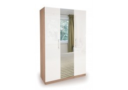Connect Kew 3 Door Wardrobe with Mirror