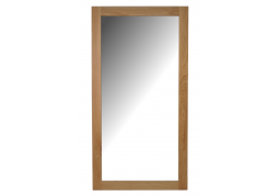 Chelsea Leicester Oak Wall Mirror - Medium