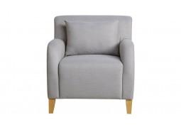 Fabric Armchair - Light Grey