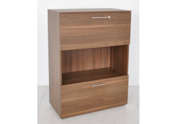 Performance 2 Drawer Bookcase with Lock