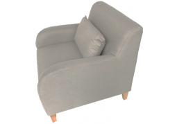 Fabric Armchair - Neutral