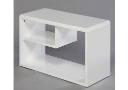 Hugo White TV unit