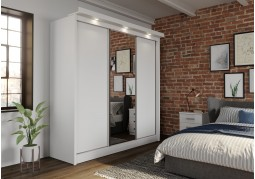 Oslo White 3 Door Sliding Wardrobe