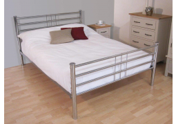 Roma Silver King Size Bed Frame