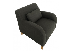 Fabric Armchair - Smoke