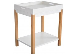 Tray Top End Table - With Removable Top