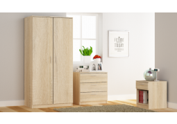 Venice Bedroom Set - Somona Oak