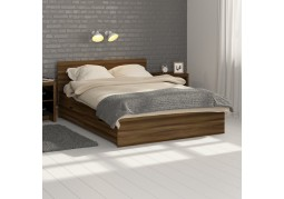 Walnut Storage Bed